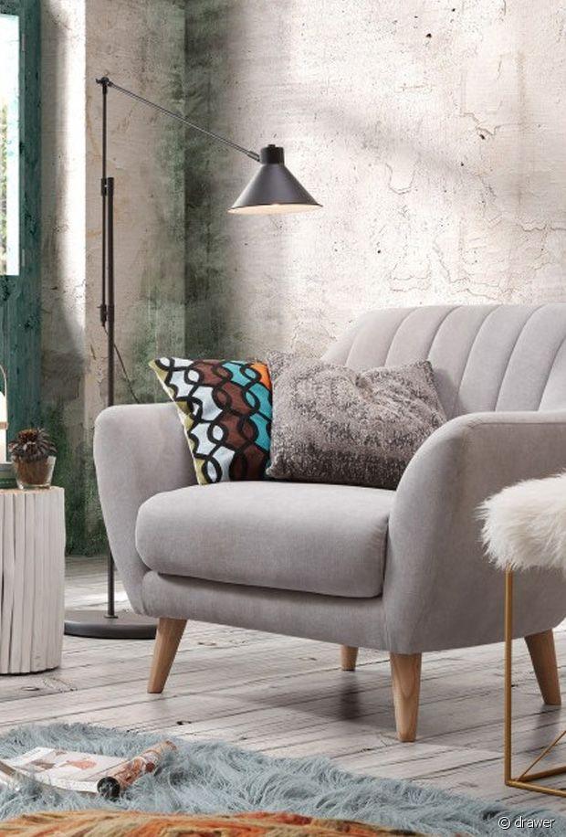 Sélection de fauteuils gris tendances : un must have de la déco