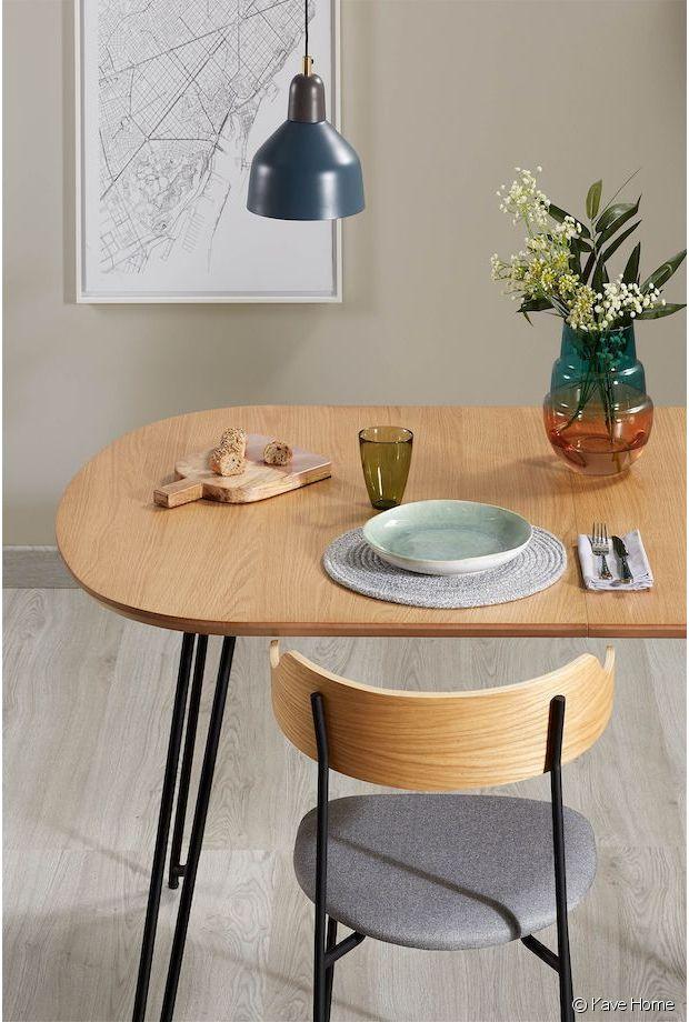 Une table en bois extensible au look vintage