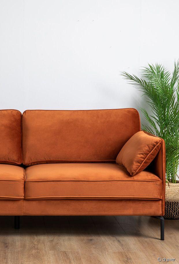 Le top 5 des meilleures couleurs pour un canapé en velours