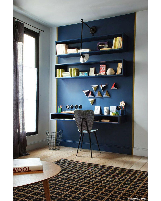 Bureau Secretaire Petit Espace comment aménager un coin bureau dans le salon ? - 31m2