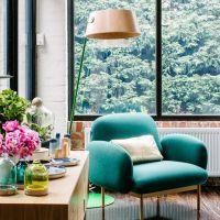 un fauteuil color pour illuminer le sjour - Fauteuil Colore