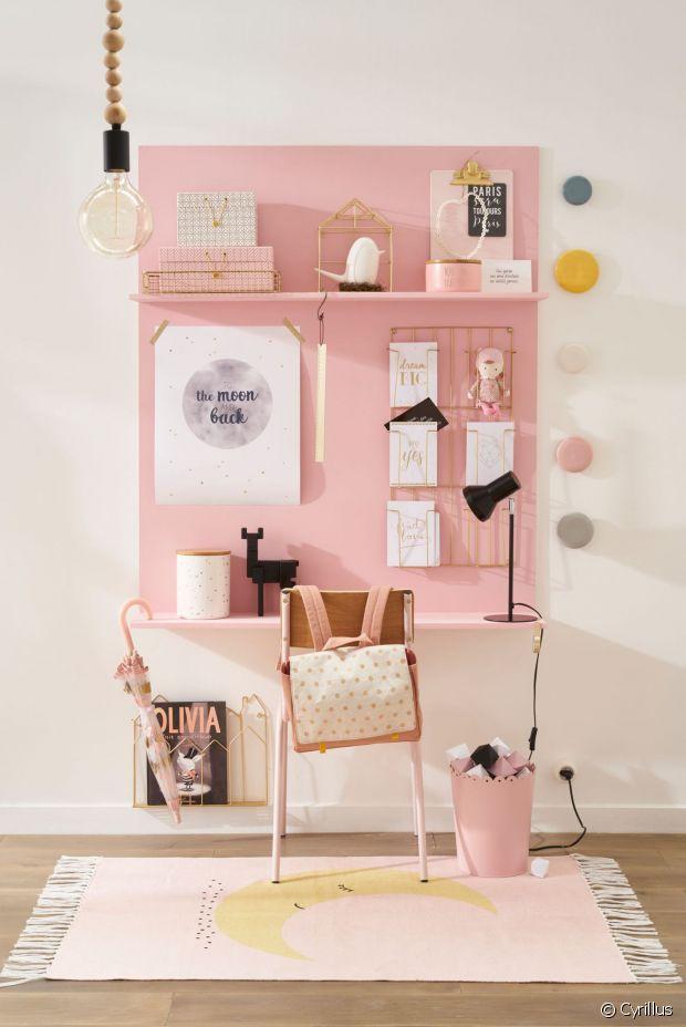10 tapis mignons et pas chers pour la chambre des enfants for Chambre ado rose et gris