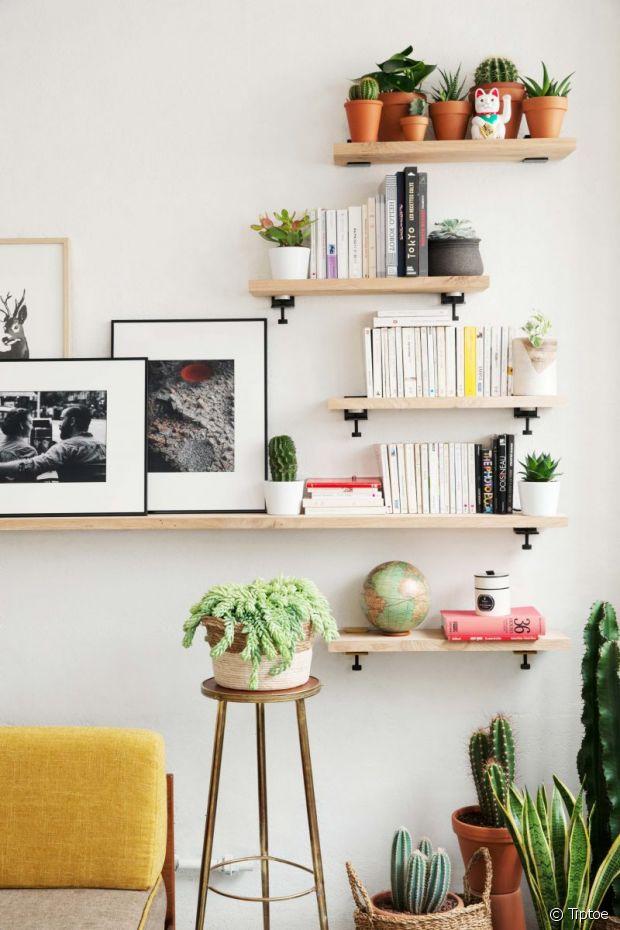 comment bien fixer une tag re murale. Black Bedroom Furniture Sets. Home Design Ideas