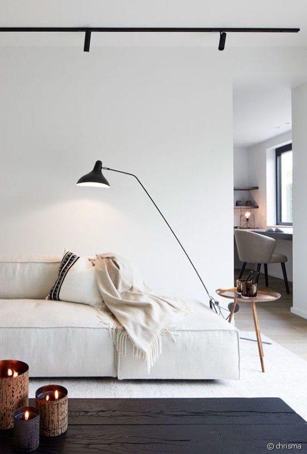 Un salon parfaitement minimaliste !
