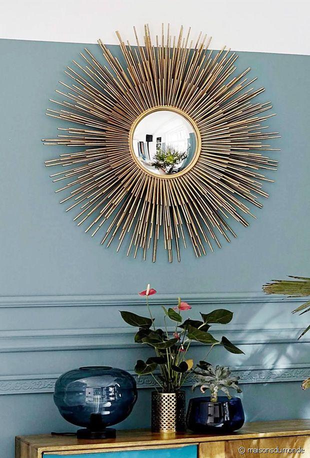 Tendance déco : zoom sur le miroir soleil