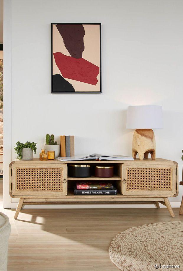 Sélection de meubles TV bohèmes pour une jolié déco hippie-chic