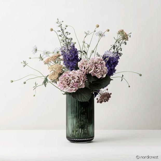 Coup de coeur pour ce vase en v erre soufflé à la bouche : très joli !