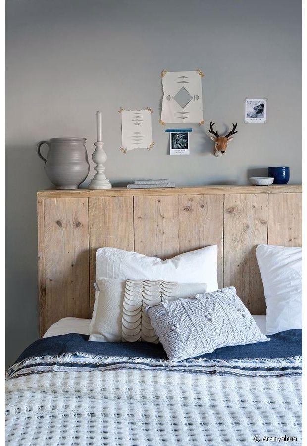 Bleu, gris et bois : un mélange qui fonctionne !