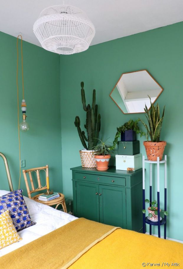 Appartement coloré