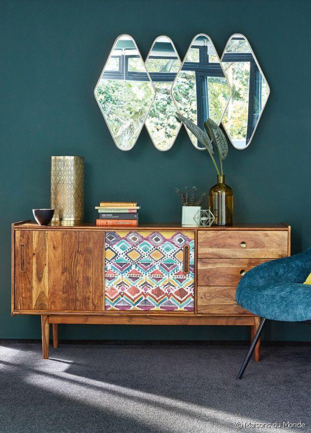 Miroir soleil maison du monde chaises de jardin ikea for Miroir forme maison