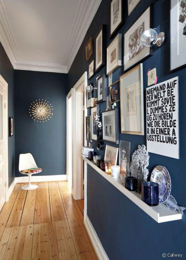 comment am nager un long couloir. Black Bedroom Furniture Sets. Home Design Ideas