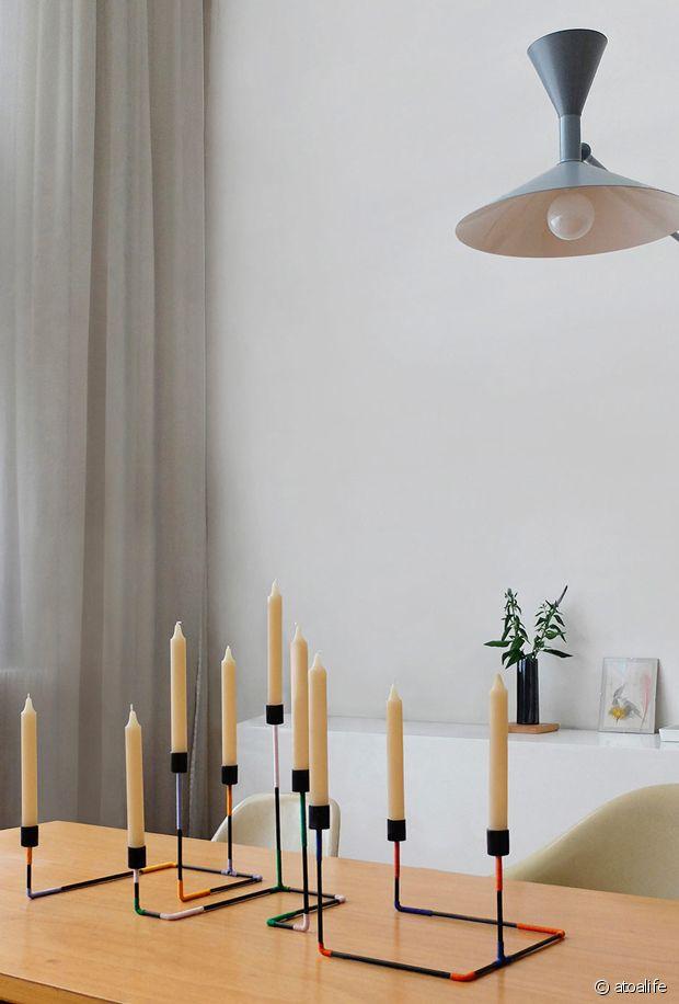 Un chandelier design qui a fière allure !