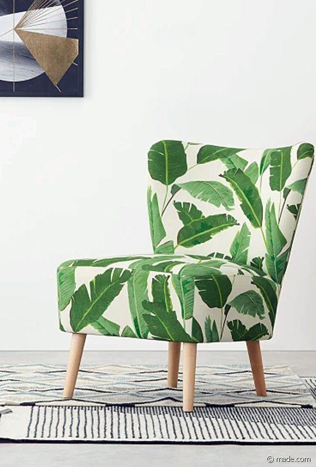 Sélection de fauteuils imprimés pour booster votre décoration d'intérieur