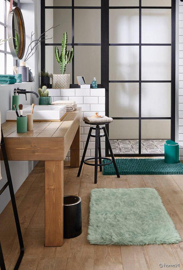 Sélection de tapis de bain pour une déco de salle de bain toute en douceur