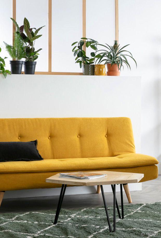 5 bonnes raisons d'adopter un canapé jaune dans votre salon