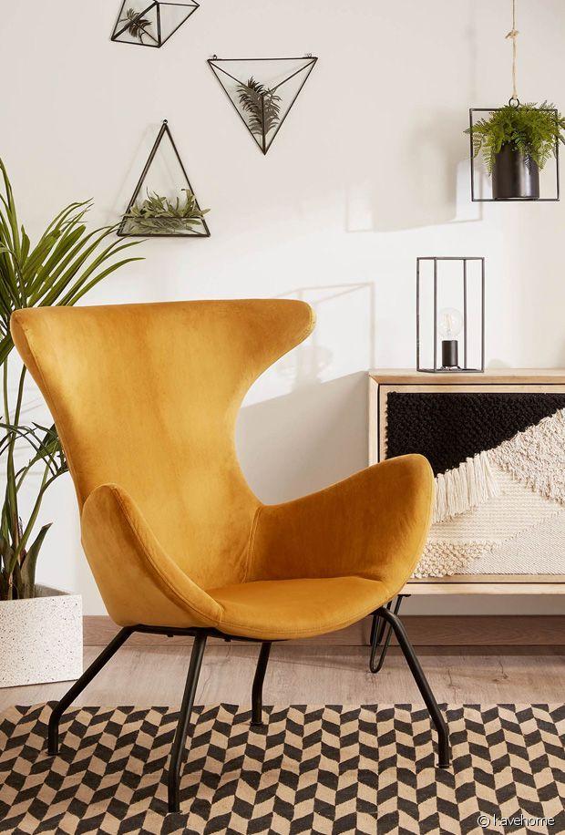 Osez le jaune moutarde dans votre décoration d'intérieur