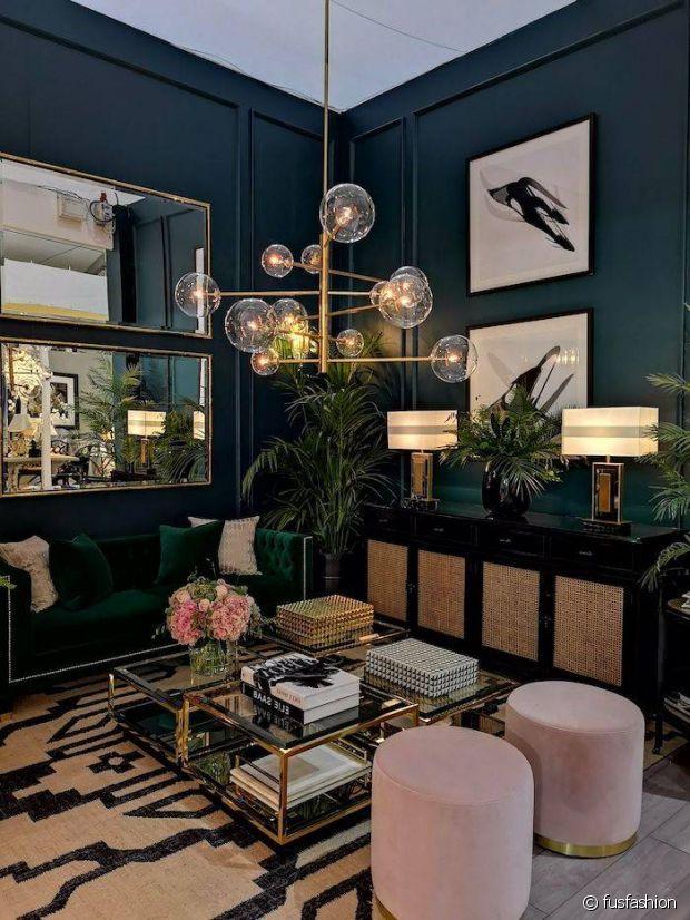 L'ambiance feutrée et luxueuse d'un intérieur art deco