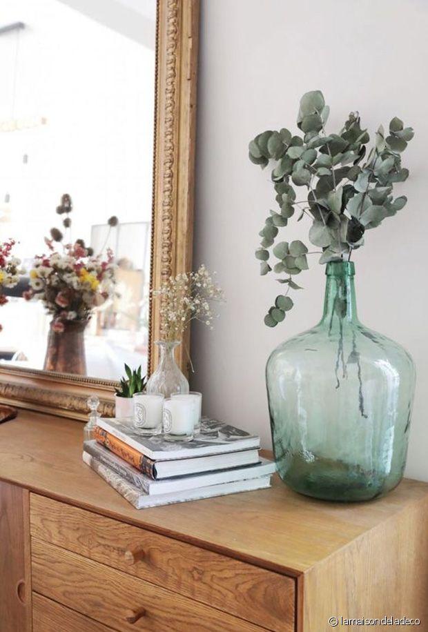 Où placer son vase en verre Dame Jeanne pour le mettre en valeur dans son intérieur ?