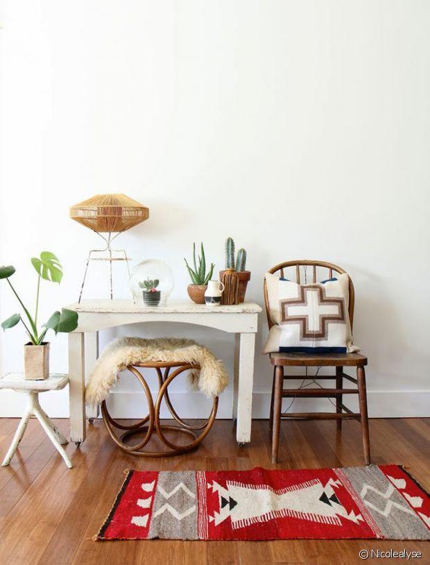le tapis kilim un indispensable pour une d co ethnique. Black Bedroom Furniture Sets. Home Design Ideas