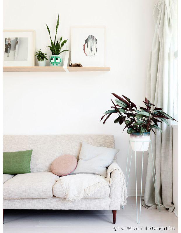 Inspiration déco : un petit appartement bohème