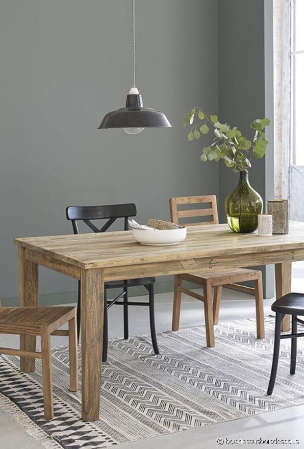 Notre sélection de grandes tables de repas en bois