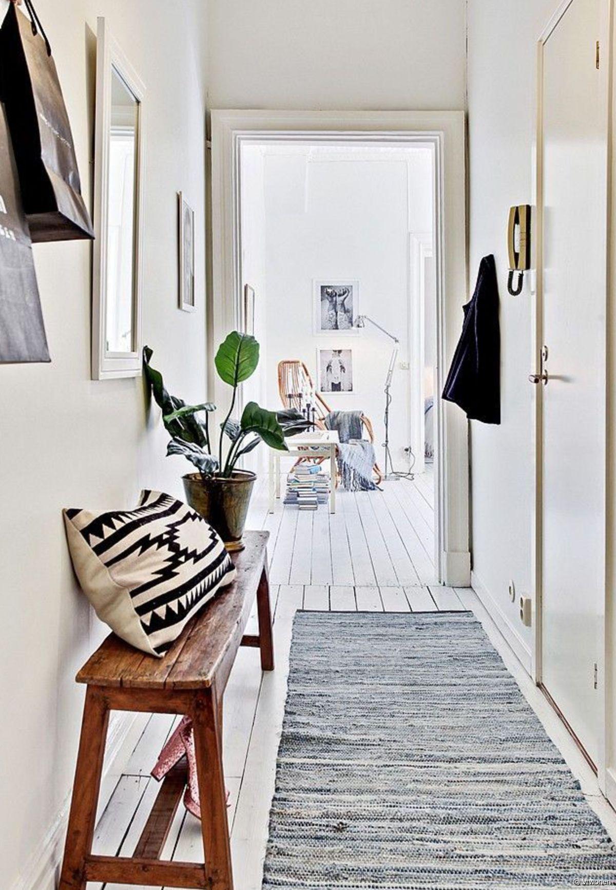 Tapis Et Canapé D Angle sélection de tapis pour habiller le couloir ! - 31m2