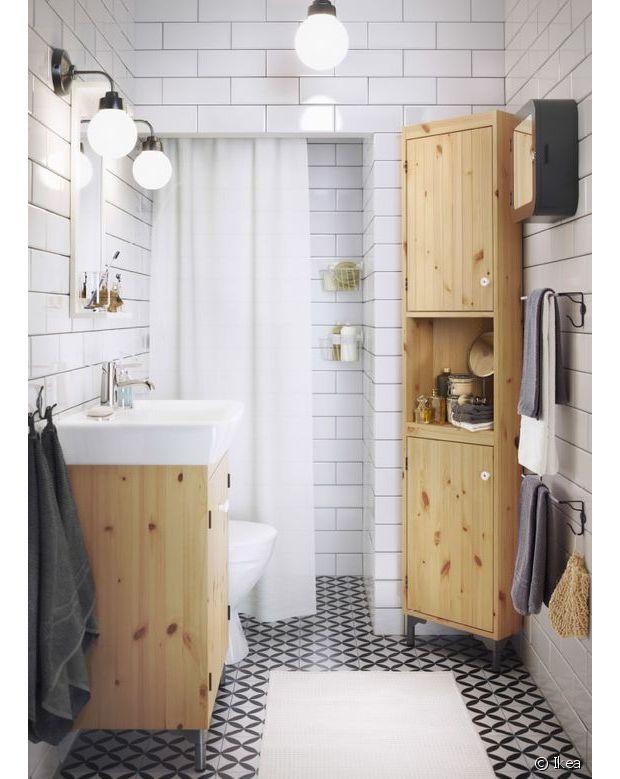Une idée tout aussi cool pour la salle de bain !