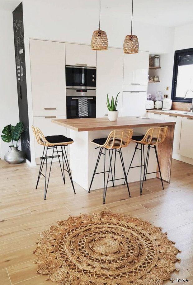S lection de tabourets de bar pour la cuisine 31m2 Table haute avec tabouret pour cuisine