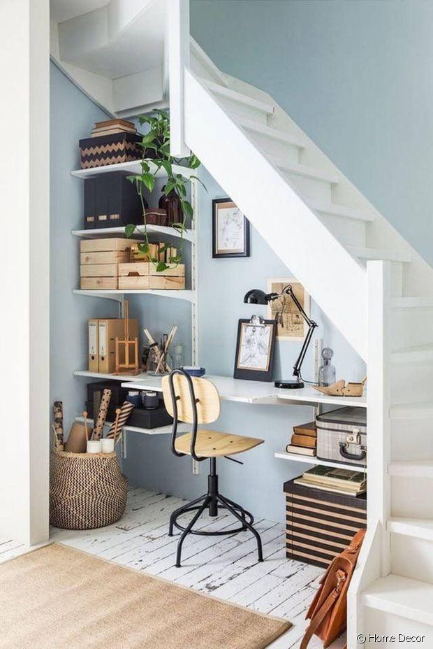 Si vous n'avez pas de pièce disponible, trouvez un petit espace !