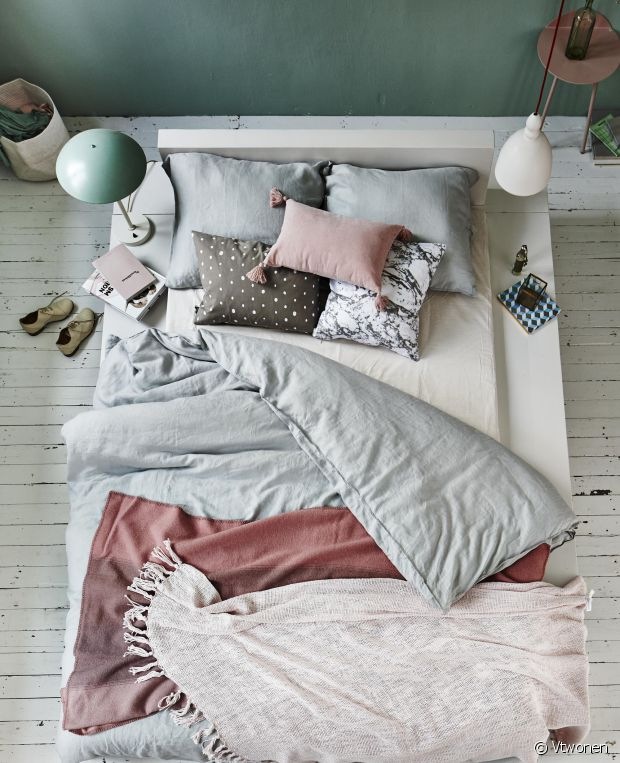 Mixez teintes pastel et couleurs claires.