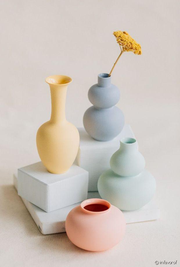 Des mini vases colorés et vitaminés