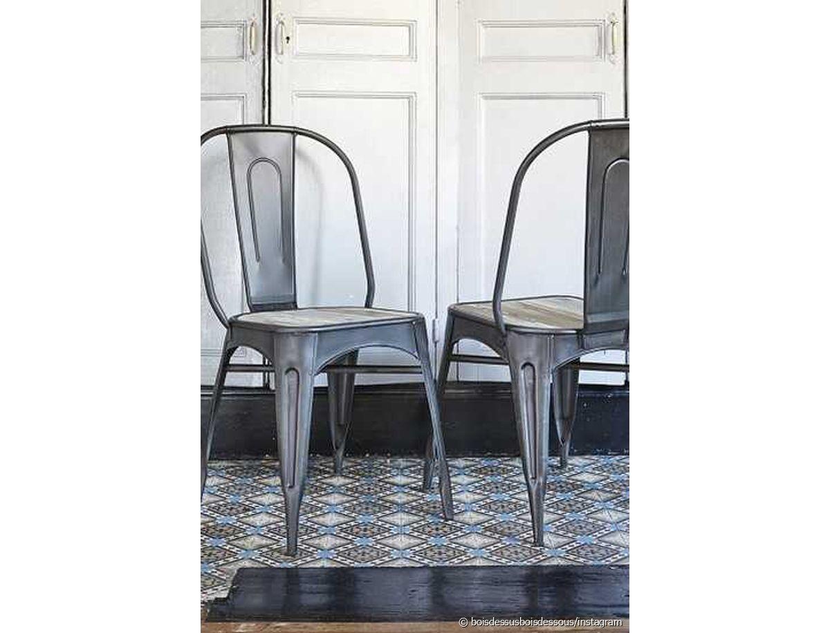 La chaise A de Tolix : l'assise star du style industriel 31m2