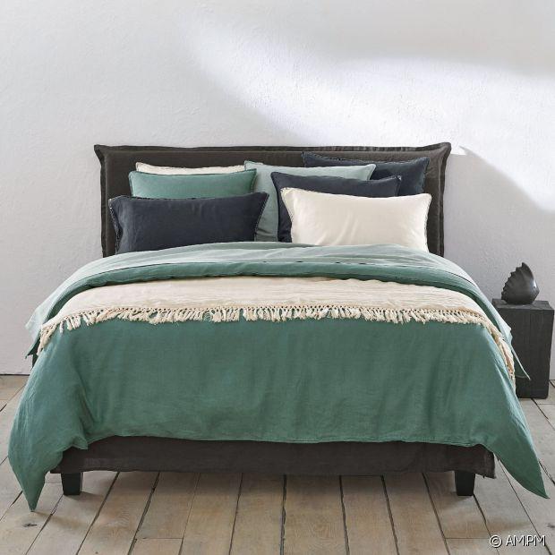 On craque pour la nouvelle collection de linge de lit AM.PM