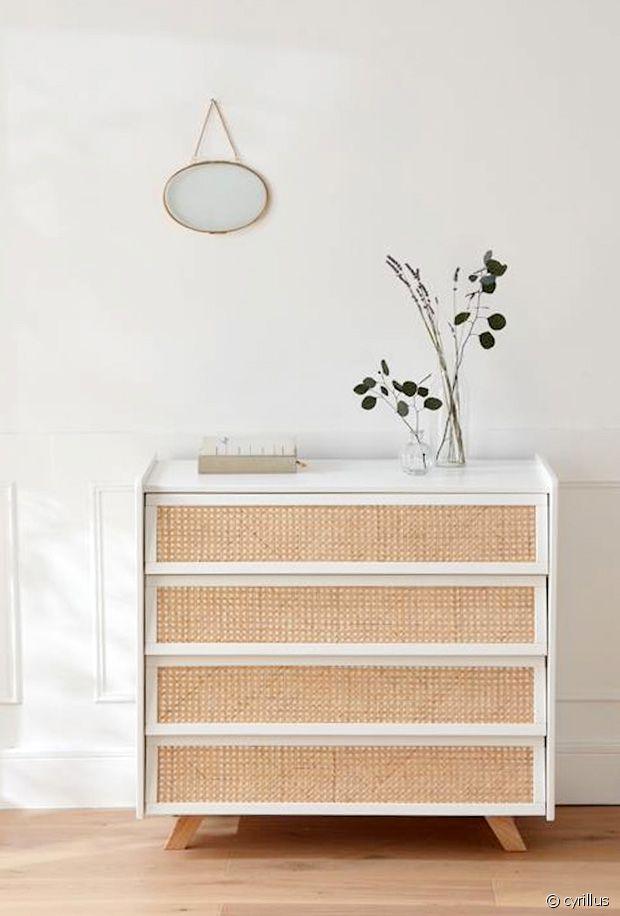 Sélection de meubles et petite déco en cannage - zoom sur la tendance du rotin