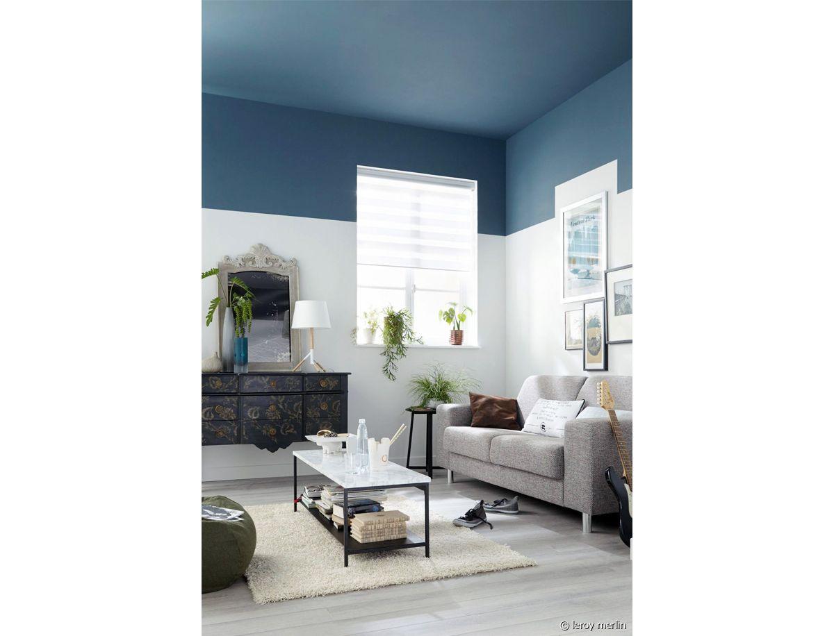 Luminaire Pour Plafond Bas Avec Poutre pour ou contre le plafond coloré ? - 31m2