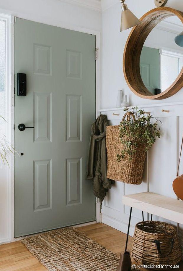 De quelle couleur peindre ses portes intérieures ?