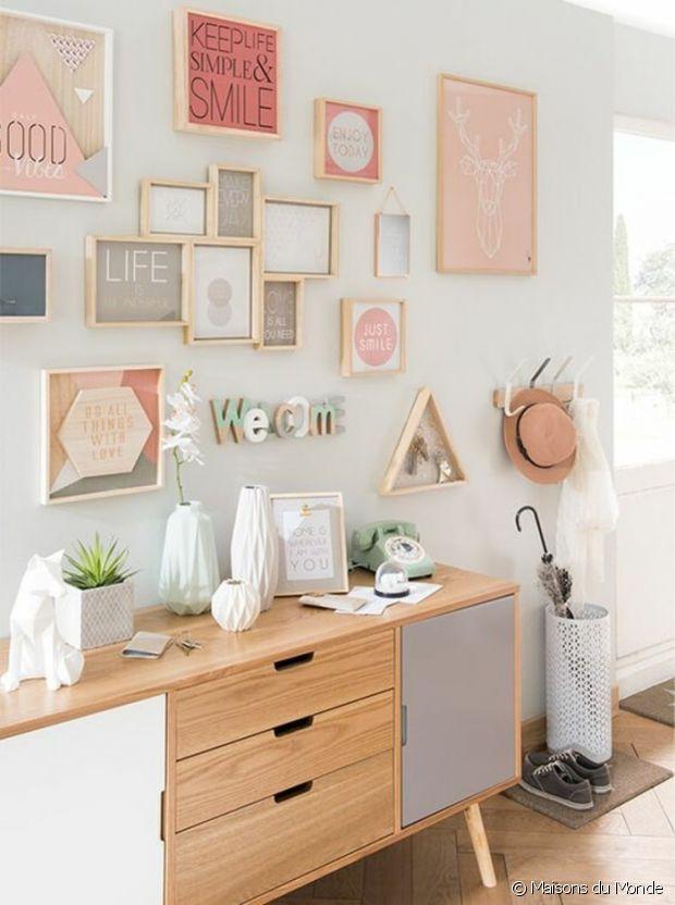 tout ce qu 39 il vous faut pour cr er une belle accumulation au mur. Black Bedroom Furniture Sets. Home Design Ideas
