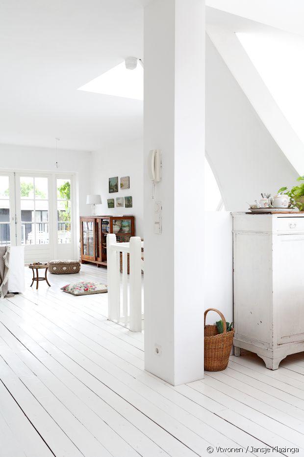 3 bonnes raisons de blanchir son parquet. Black Bedroom Furniture Sets. Home Design Ideas