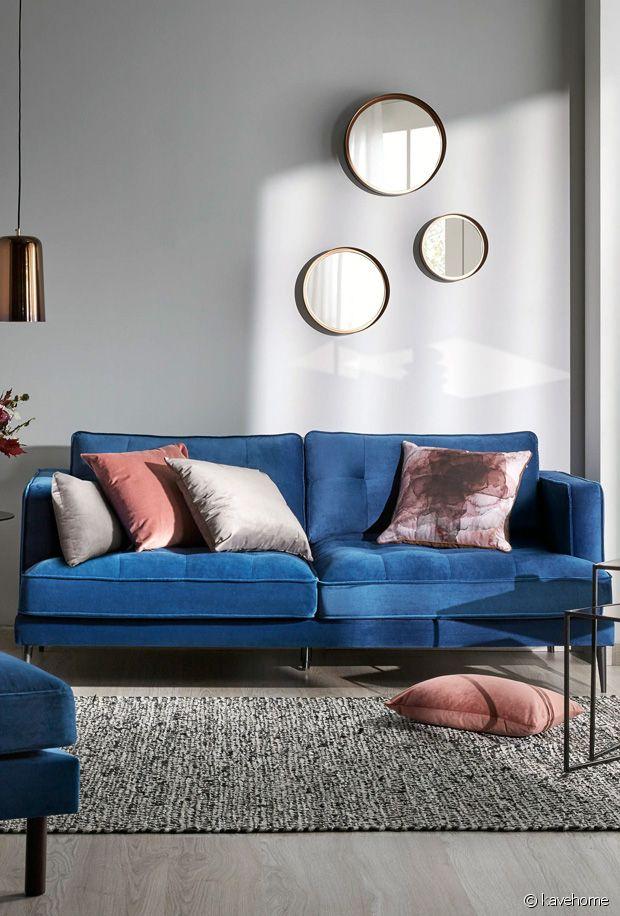 Comment intégrer un canapé bleu dans sa décoration ?