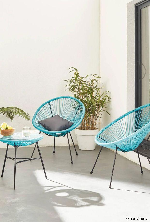 Sélection de fauteuils colorés Acapulco pour notre intérieur et notre extérieur