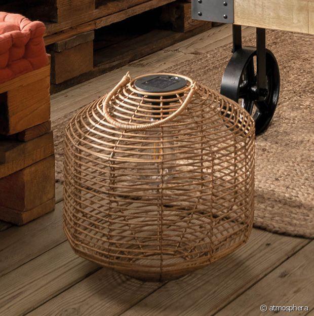 La lanterne en rotin : un accessoire intemporel et indémodable