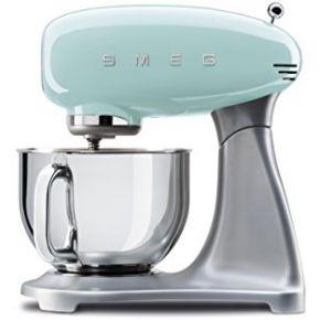 Smeg robot culinaire multifonction smf01pgeu,...