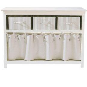 Table console ivoire l 120 cm manosque