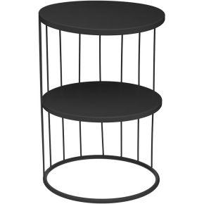 Table d'appoint noir kobu - atmosphera,...